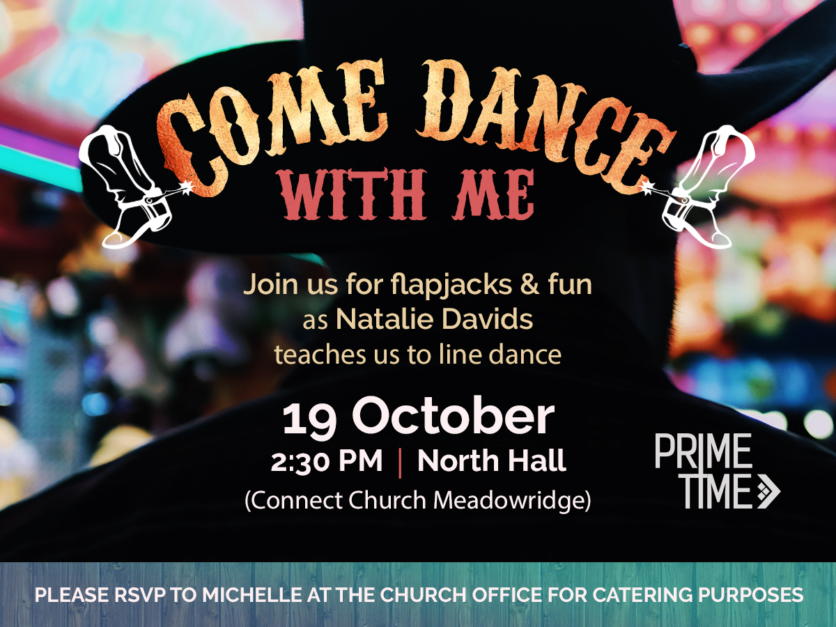 Primetime > Come Dance With Me @ Connect Church | Cape Town | Western Cape | South Africa