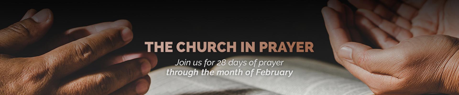 church in prayer PAGE